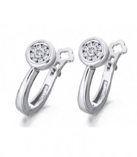 White gold earrings with Diamonds
