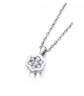 White gold pendant with Diamonds
