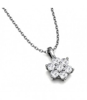 White gold pendant with Diamonds